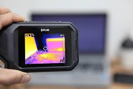usage caméra thermique