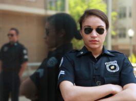 photo d'une policière